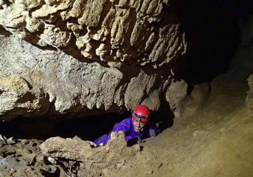 La grotte de la Bouhadère