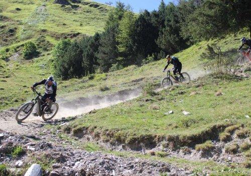 Initiation descente VTT à Barèges