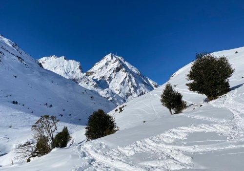 Raquettes au pied du Pic du Midi