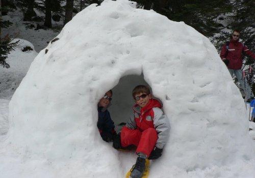 Classe de neige - Famille Crockett