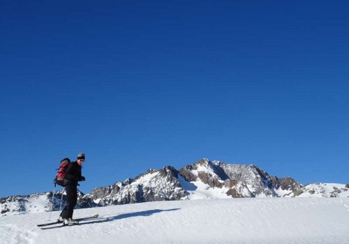 Randonnée à ski Pyrénées
