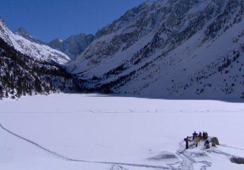 Rando-raquettes lac de Gaube